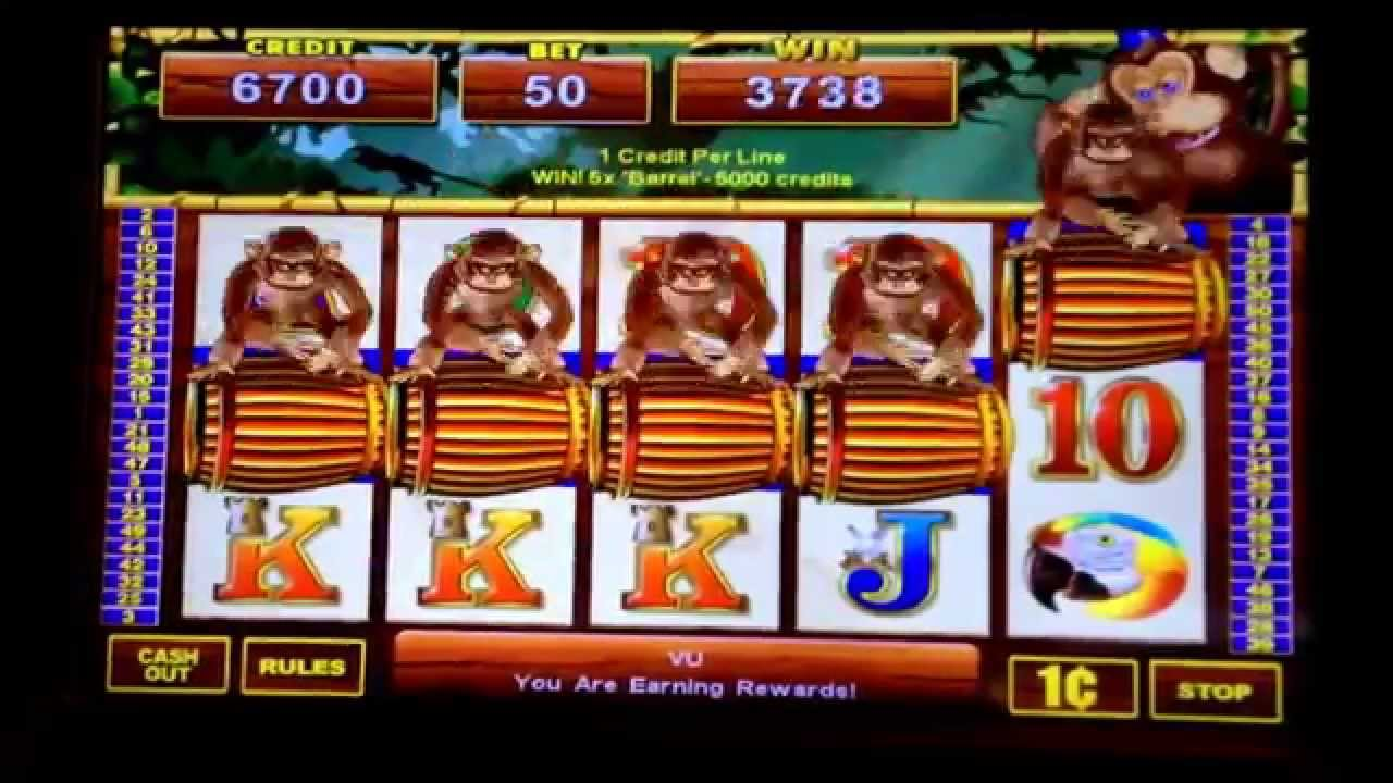 slot machine monkey