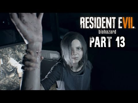 Resident Evil 7 Walkthrough Part 13 - ELEVATOR - FUSE, POWER CABLE & MACHINE GUN