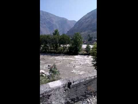 Wonderful view of beas river manali