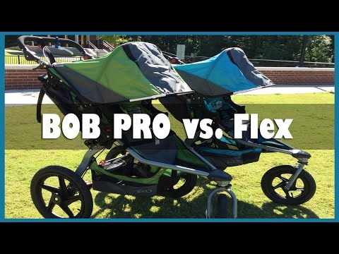 BOB Revolution Flex vs Pro Stroller Review by Baby Gizmo