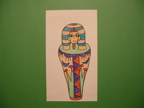Let S Draw A Mummy Case Youtube
