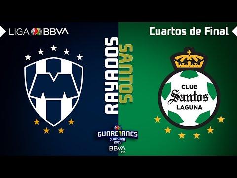 Monterrey Santos Laguna Goals And Highlights
