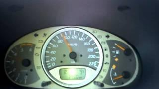 nissan almera tino 1 5 dci 0 100km h acceleration