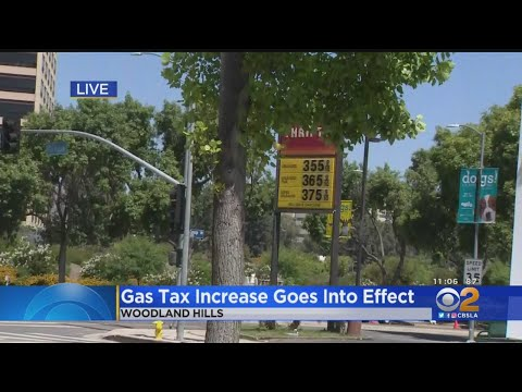 With New Gas Tax, California Now Has Highest Gas Prices In The Nation