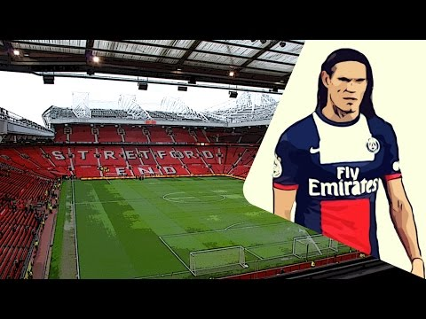 Manchester United hope to replace Robin van Persie with Edinson Cavani