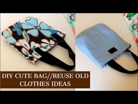 REVERSIBLE HANDMADE DIY BAG/coudre un sac/bolsa diy/DIY Tasche/bolsa de bricolaje/DIYバッグ/กระเป๋าผ้า