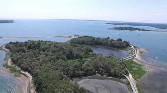 Monument Beach Bourne, MA Dji Inspire 1 Drone Aerial