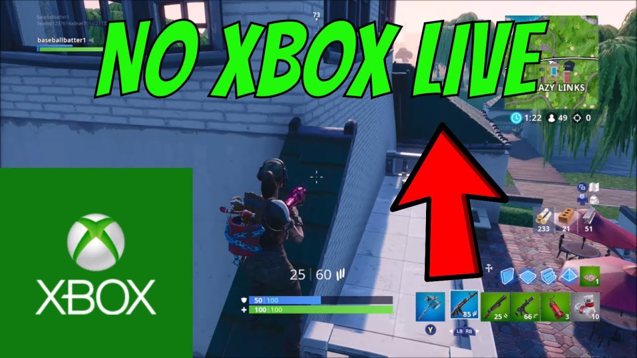 New How To Play Fortnite Without Xbox Live In 2019 Updated Video Youtube
