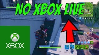 NEW* HOW TO PLAY FORTNITE WITHOUT XBOX LIVE IN 2019 (UPDATED VIDEO)