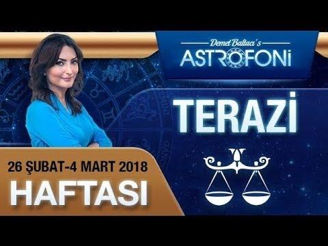 Terazi Burcu Haftalık Astroloji Yorumu 26 Şubat-4 Mart 2018, Demet Baltacı