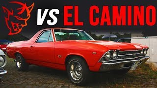 Dodge SRT Demon vs 1969 El Camino & Super Cobra Jet | BRACKET DRAG RACE