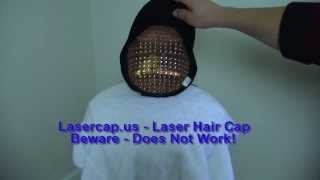 Laser Cap by Lasercap.com does not help hairloss its a complete gimmick