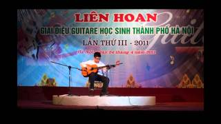 Lien hoan Guitar Hoc sinh Hanoi III - Chung khao, Bang D (Cannon & Bai ca hi vong by Trong Nghia)
