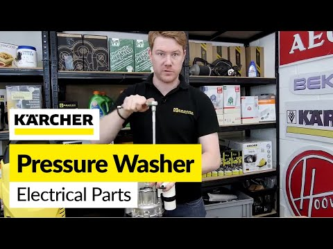 Replacing Karcher Pressure Washer Electrical Part