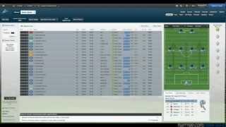 Football Manager 2013 Beta Gameplay (Livestream)