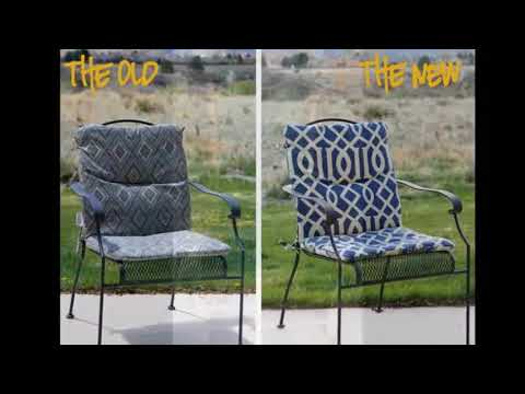Outdoor Chair Cushions - Extra Thick Outdoor Chair Cushions | Beautiful Pictures Ideas &