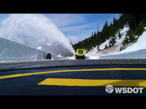 SR 20 - North Cascades Highway snow removal - Full version