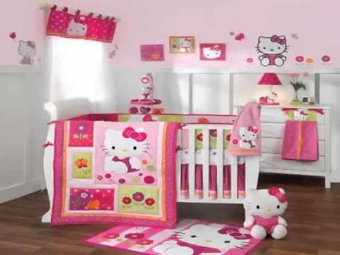 Get Hello Kitty Garden 6 Piece Baby Crib Bedding Set with Bumper By Lambs Top List