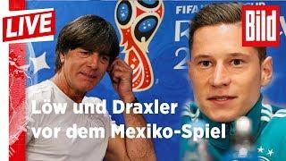 """Jogi: """"Özil ist einsatzfähig und fit!"""" 🔴 bild live 16.06.18"""