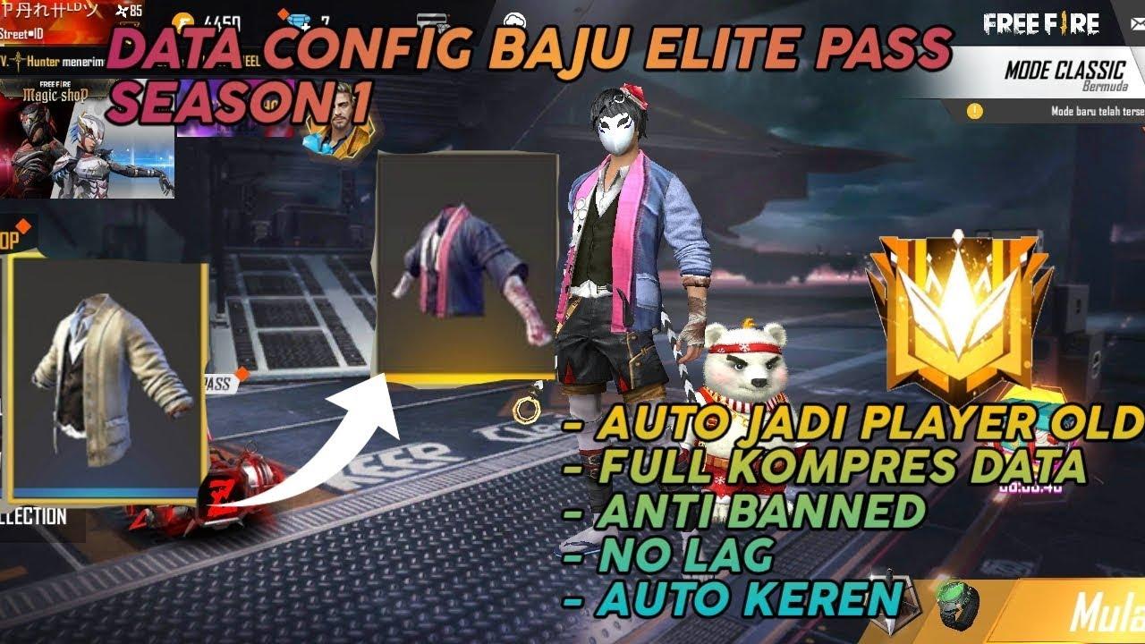 Keren Parah Data Config Baju Sakura Elite Pass Season 1 Youtube