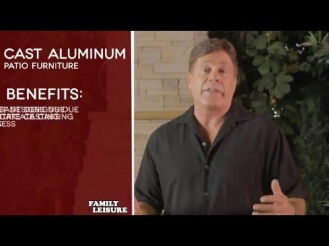 Cast Aluminum Patio Furniture Buyers Guide
