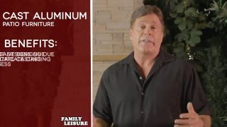 Cast Aluminum Patio Furniture Buyers Guide Video