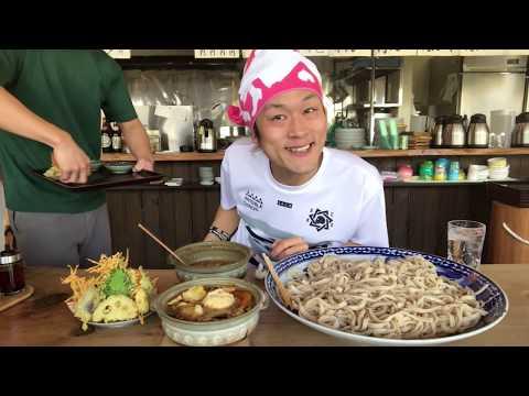 【大食い】超激アツ‼️呉汁つけうどん(麺5kg)&激ウマの天ぷら各種‼️【MAX鈴木】【マックス鈴木】【Max Suzuki】【うどん】