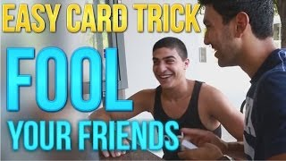Magic Trick: Easy Card Trick To Fool Your Friends!