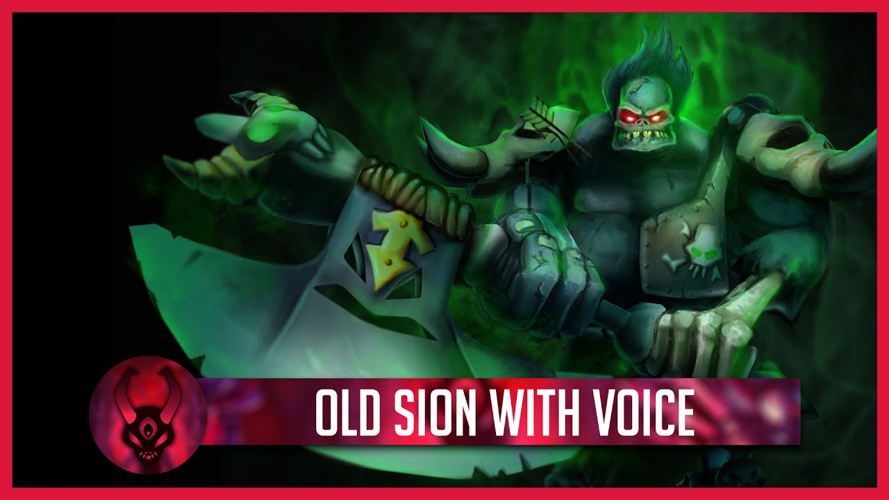 League Of Legends Old Sion