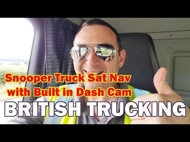 Snooper Truckmate SC5900 DVR Sat Nav