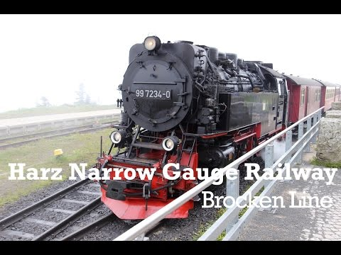 Harz Narrow Gauge Railway Brocken Line Germany
