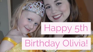 We celebrate Olivias 5th Birthday! Thank you for watching. Subscrib...