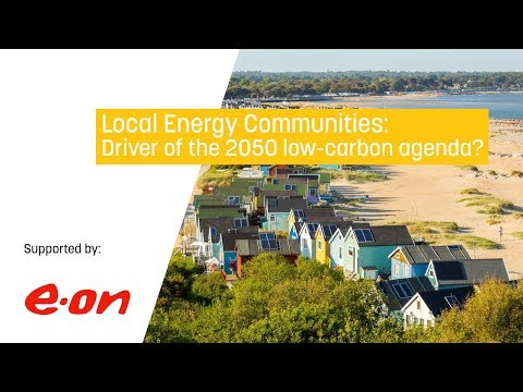 Local Energy Communities: driver of the 2050 low-carbon agenda?
