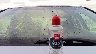 Griot's Garage Glass Sealant Review! Goodbye Wipers!
