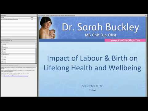 Impact of Labour & Birth on Lifelong Health and Wellbeing (Webinar)