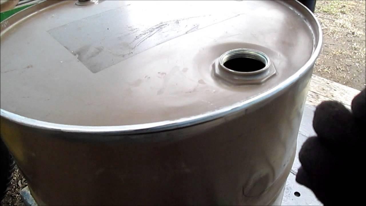 Cutting 55 Gal Drum To Make It Shorter Youtube