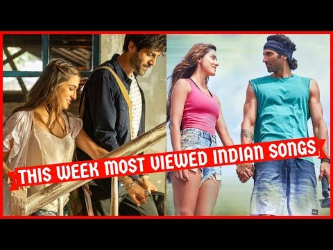 This Week Most Viewed Indian Songs On Youtube [27 January 2020]