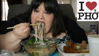 Vietnamese Pho Mukbang Eating Show
