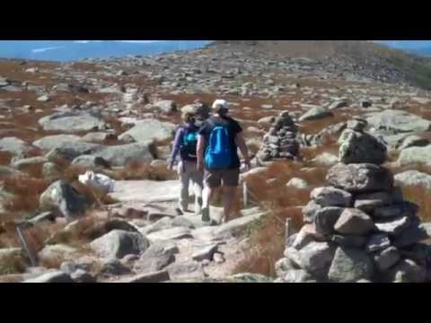 Mount Katahdin Climb Via Hunt Trail