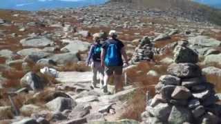 Mount Katahdin Climb Via Hunt Trail