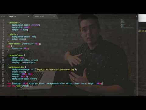 Coding A Navigation System Using HTML And CSS - Web Design Tutorials For Beginners
