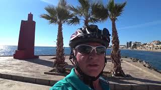 Vom Camping Roquetas über Aquadulce nach Almeria