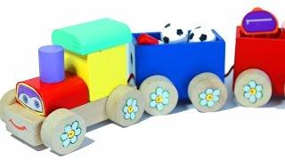 Мультики про машинки и паровозики. Развивающие мультики.