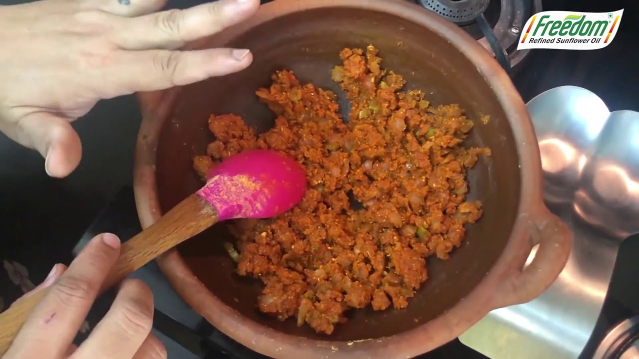 Freedom Healthy Oil - Guthi Vankaya Curry by Meghna - 38 Seconds