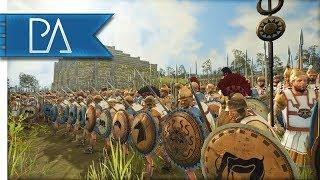 A DESPERATE LAST STAND! - Siege Battle - Total War: Rome 2