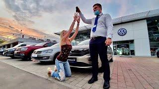 Купила НОВЫЙ Volkswagen Polo Sedan по цене Лады Весты