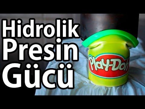 50 Ton İle Oyun Hamuru Play Doh | Mum | Traş Köpüğü Ezdim