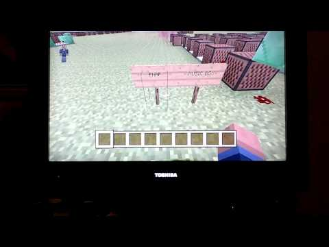 Super cool music notes from minecraft