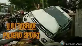 Download Video UJI TABRAK Mitsubishi Pajero Sport  | Masih SAFETY kah?? |            #BingungMilih #BelajarOtomotif MP3 3GP MP4