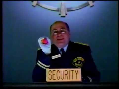 HotJobs security guard commercial, 1990s